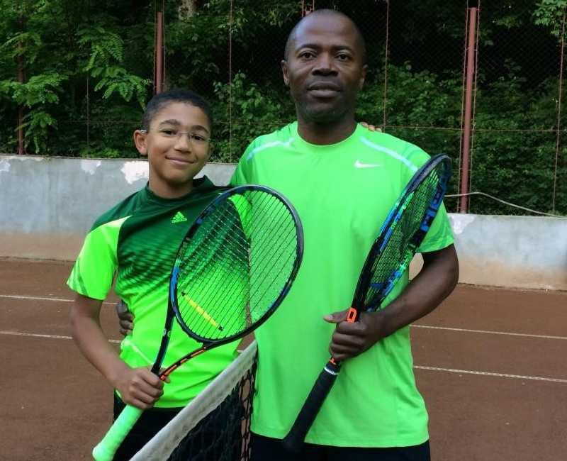 Tennis, a passion I share with my oldest son